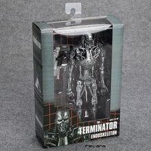 """Figura de acción de Terminator Endoskeleton, juguete de modelos coleccionables en PVC de 7 """"y 18cm"""