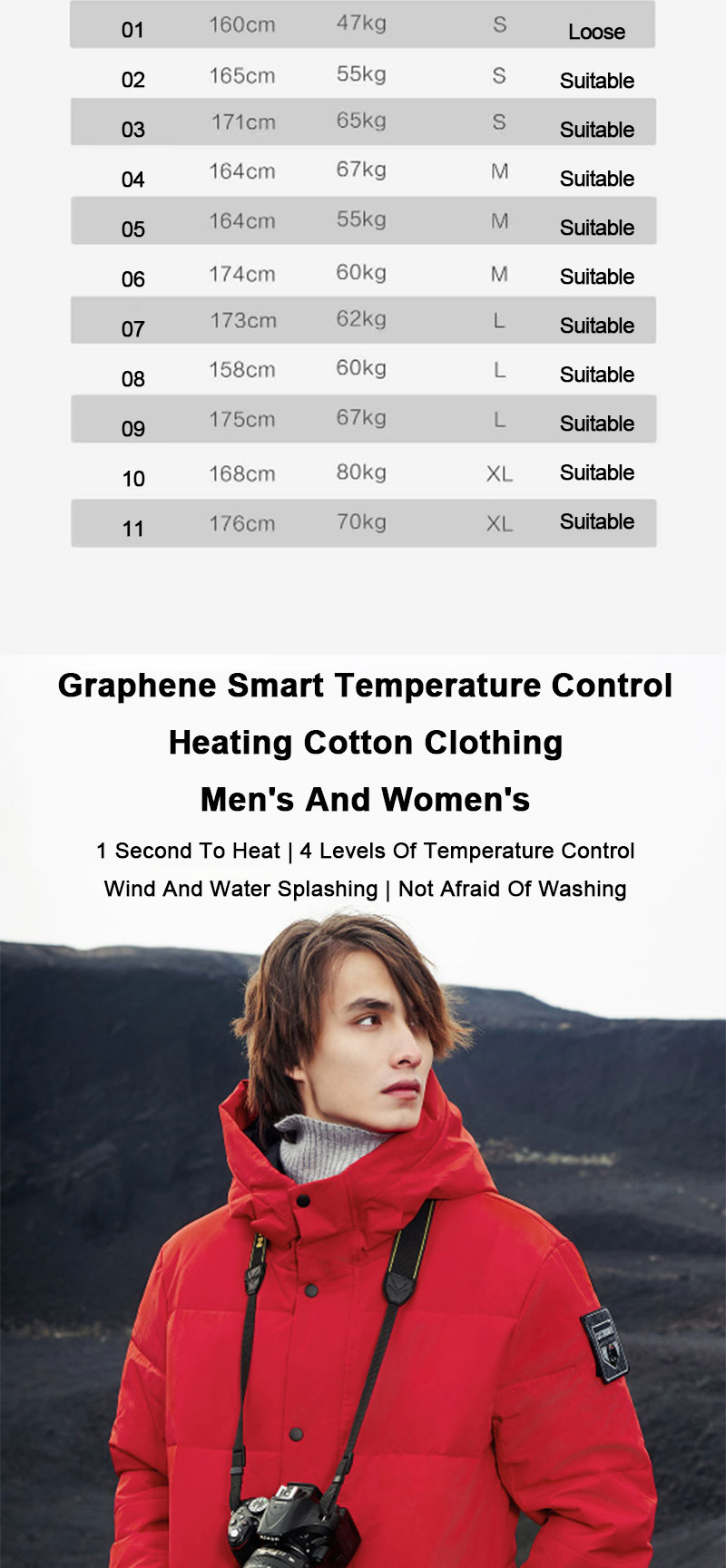 homens com capuz inverno quente aquecido roupas