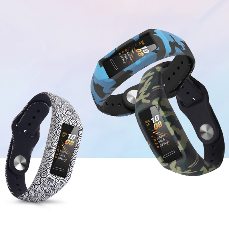 Silicone Strap For Honor Band 4 Band 5 5i Standard Version Bracelet Strap For Huawei Band 4 Replacement Wrist Band Accessories