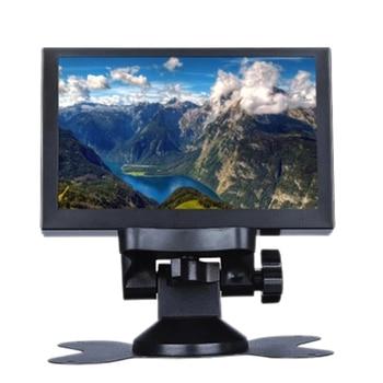 S501H Mini 5 Inch Monitor 5CH VGA/BNC/AV/HD/Ypbpr LCD Display Screen 800 x 480 Cross Line for DVR, DVD, PC, CCD, CCTV, Camera