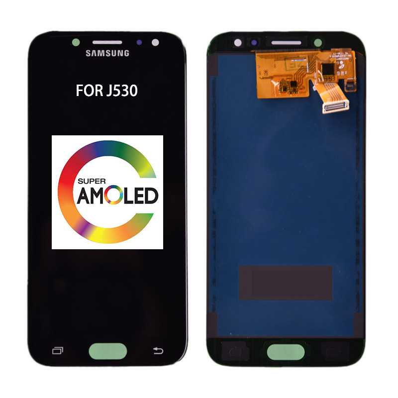 AMOLED <font><b>Samsung</b></font> <font><b>Galaxy</b></font> j5 2017 <font><b>J530</b></font> <font><b>LCD</b></font> Display Touch Screen Ersatz Teil Für <font><b>Samsung</b></font> j5 2017 Display J5 Pro J530F einstellbar image