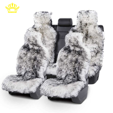 Car-Seat-Covers Sheepskin Audi for Fur All-Types of Long-Hair Natural Universal-Size