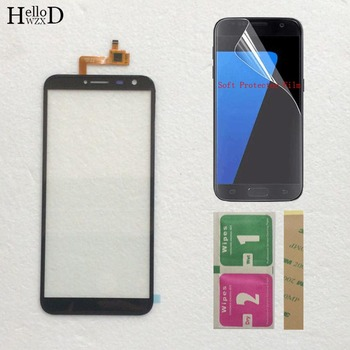 Mobile TouchScreen For DEXP Ixion G155 Touch Screen Phone Front Glass Sensor Digitizer Panel + Protecotr Film 5 0 touchscreen touch panel for dexp ixion es2 touch screen digitizer front glass len sensor repair touchpad protector film