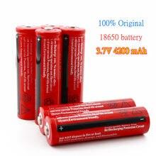 100% neue original 18650 Rechargable Batterie 18650 4200 mAh 3,7 V Batterie für LED Laterne taschenlampe