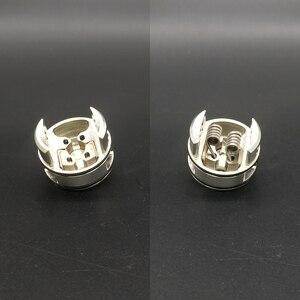 Image 3 - Hongxingjia vaporisateur X Mike Vape RDA métal Recurve double RDA Singal bobine coton Squonk boîte Mod électronique Cigarette atomiseur
