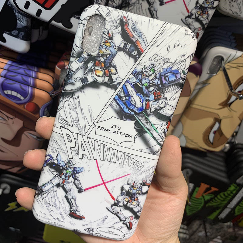 MOBILE SUIT Gundam Case for iphone 6 6s 7 8 plus X XR XS Max funda