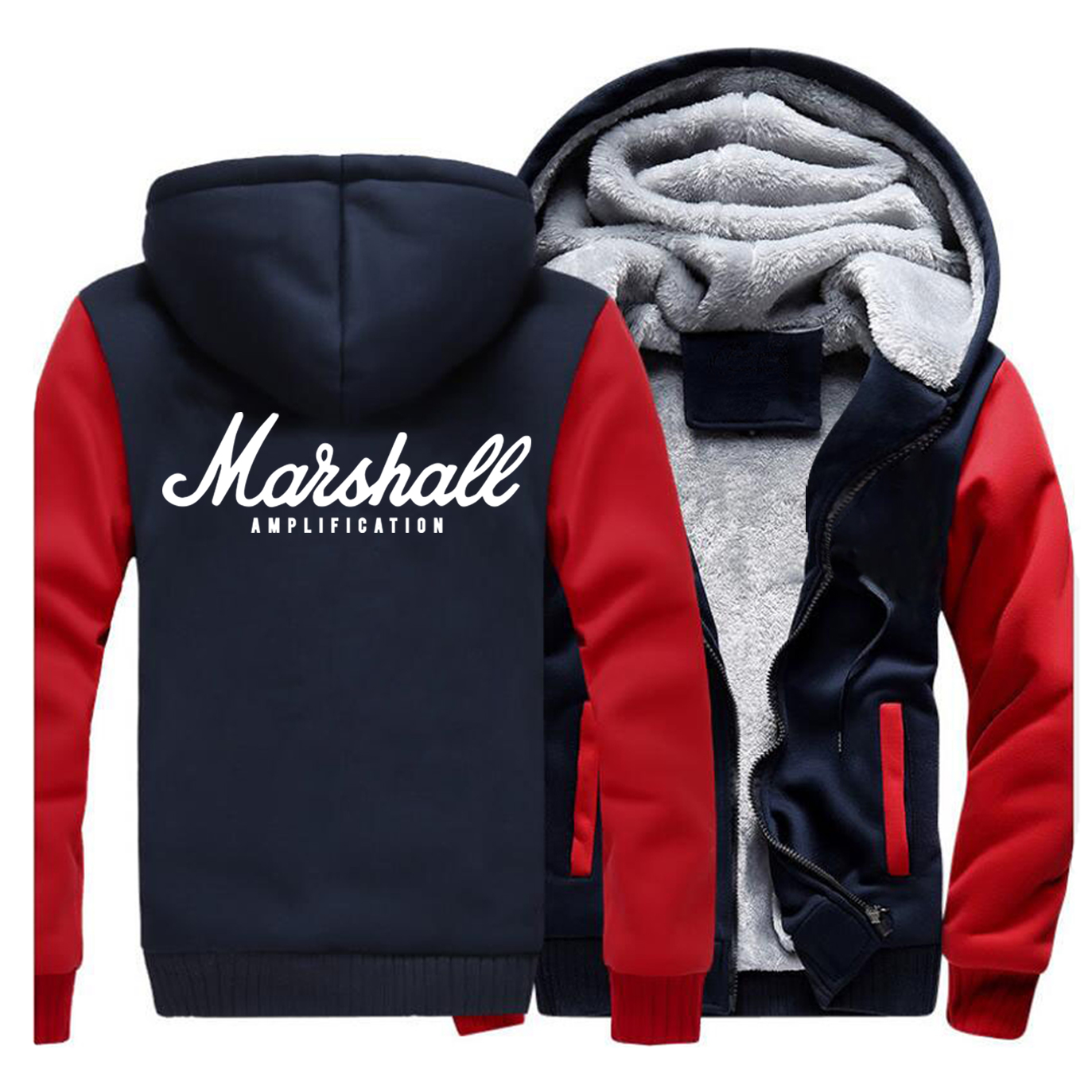 Winter Thick Jackets Brand Raglan Hoodies Sweatshirt 2019 New Zipper Casual Men's Outwear Fashion Bodywarmer Streetwear
