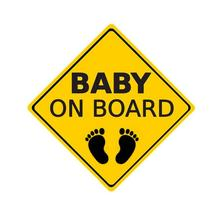 14 CM X Baby Warning Signs Reflective Car Stickers Motorcycle Decals Graphic Accessories Universal