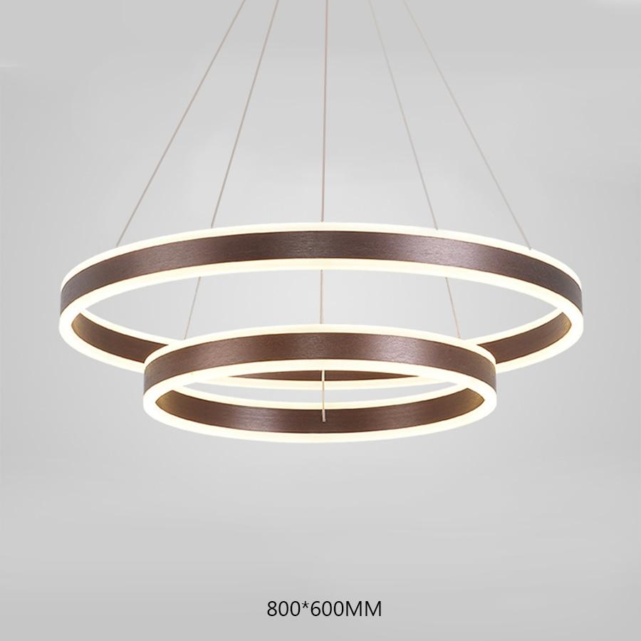 Moderno led pingente de luz casa sala