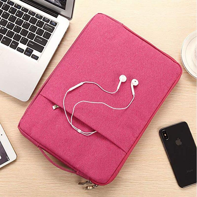 2019 8th Zipper Tablet Compatible Generation 2020 Bag iPad Carrying For Handbag 10.2inch