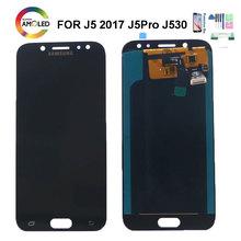 Super AMOLED LCD do Samsung Galaxy J5 Pro 2017 J530 SM-J530F DS wyświetlacz ekran dotykowy Digitizer zgromadzenie dla J5 J530F ekran LCD tanie tanio NONE CN (pochodzenie) Ekran pojemnościowy 1280x720 3 Galaxy J5 Pro 2017 J530 J530F SM-J530F J530M LCD i ekran dotykowy Digitizer