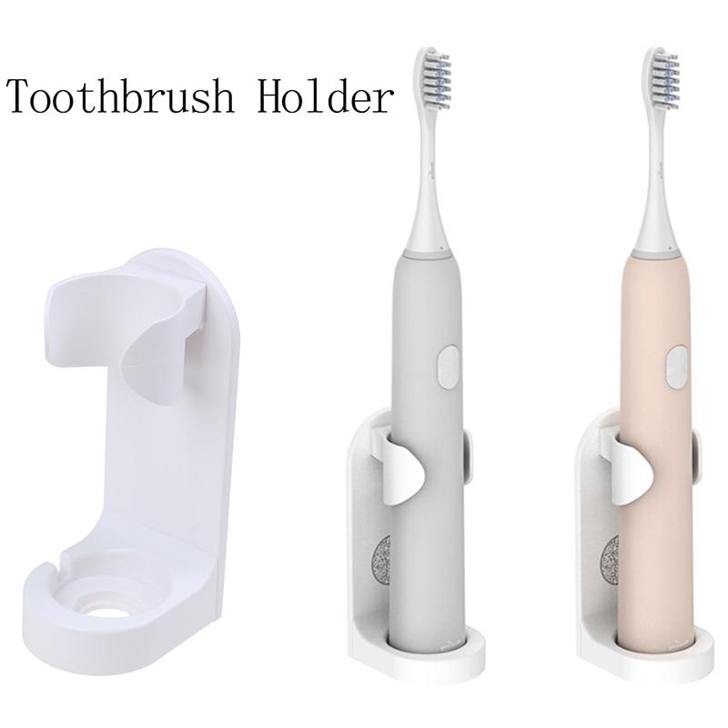 Мода 1 шт. ABS бесследная стойка органайзер для зубной щетки Электрический настенный держатель Органайзер для ванной комнаты аксессуары инструменты|Держатели для зубных щеток и пасты|   | АлиЭкспресс