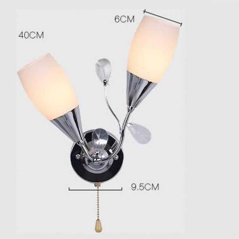 Applique Murale Luminaire Wall Lamp Iron Pipe Lamp Led Wall Light 110v-220v E27 Indoor Lighting Miroir Mural Wall Lamps