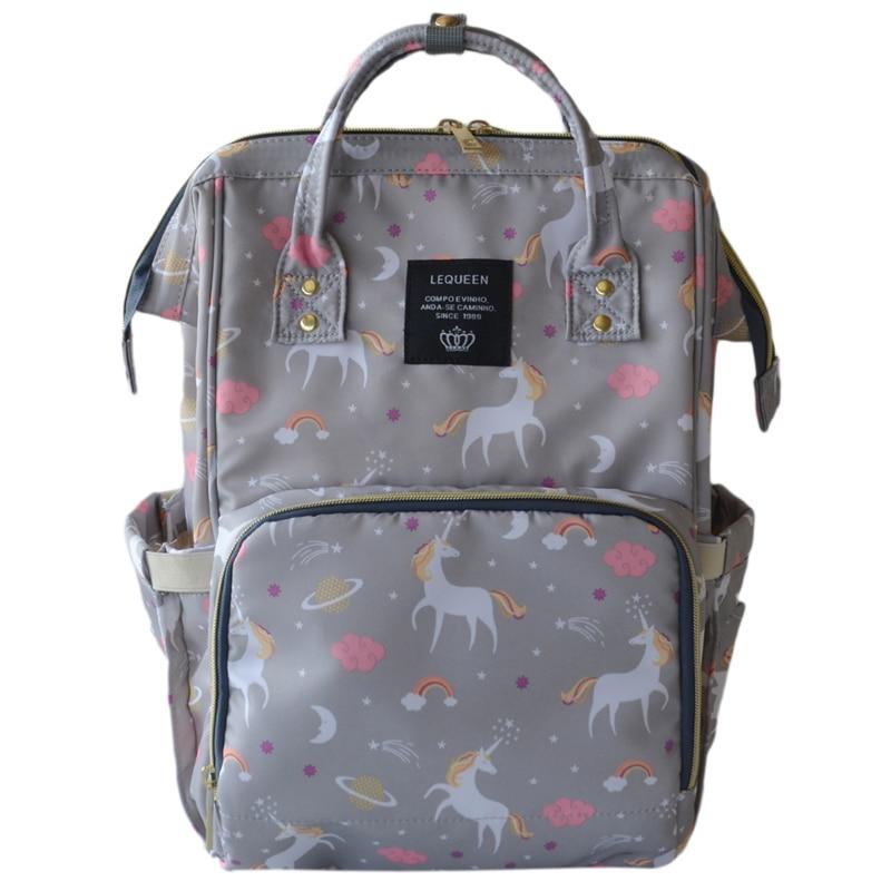 Модная Горячая сумка для подгузников для мам, новая брендовая сумка для детских подгузников большой емкости, рюкзак для путешествий