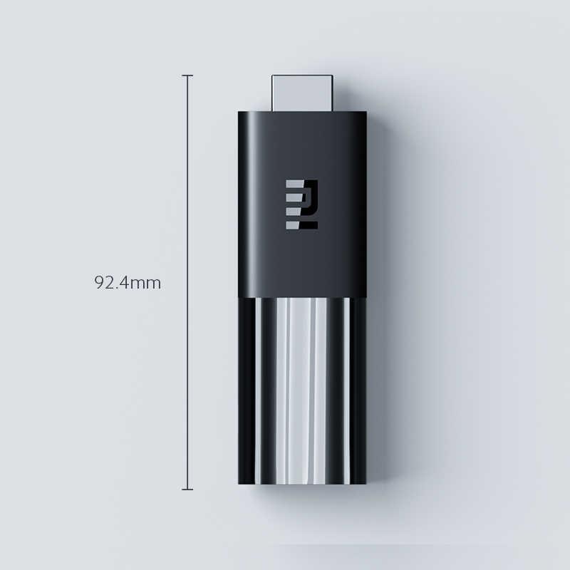 Asli Global Xiaomi Mi TV Stick TV Android 9.0 Quad Core 1080P HD Audio Decoding Chromecast Netflix Smart TV stick 1GB 8GB