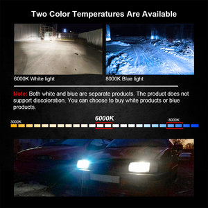 Image 5 - CROSSFOX Auto Lampen Lampe LED H7 H4 H11 H1 H3 H13 880 9004 9007 9003 HB3 HB4 H27 9005 9006 LED 6000K 8000K Auto Scheinwerfer Licht