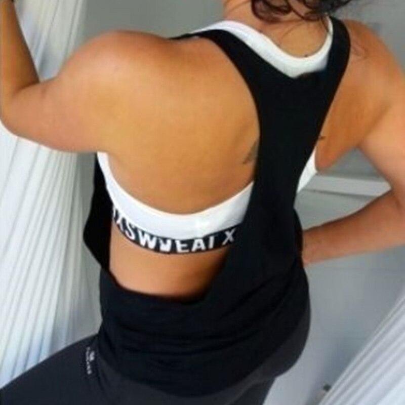 Одежда для упражнений спортивная одежда женщин Спортивная футболка