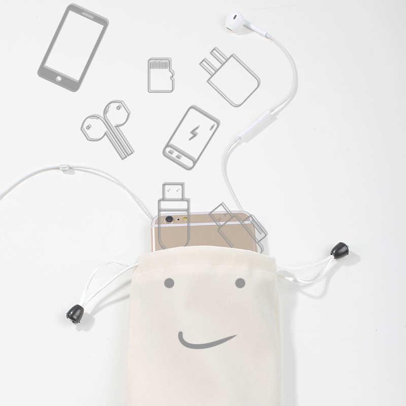 Kuulaa Power Bank Case Kantong Ponsel untuk Iphone Samsung Xiaomi Huawei Tahan Air Powerbank Tas Penyimpanan Aksesoris