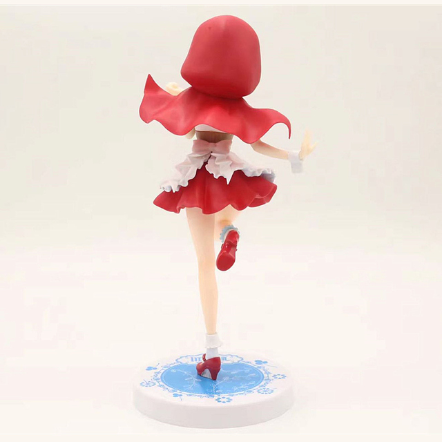 Anime Re:Life in a different world from zero Rem Red Hood Ver. PVC Action Figure Collectible Model Toys Doll Gifts