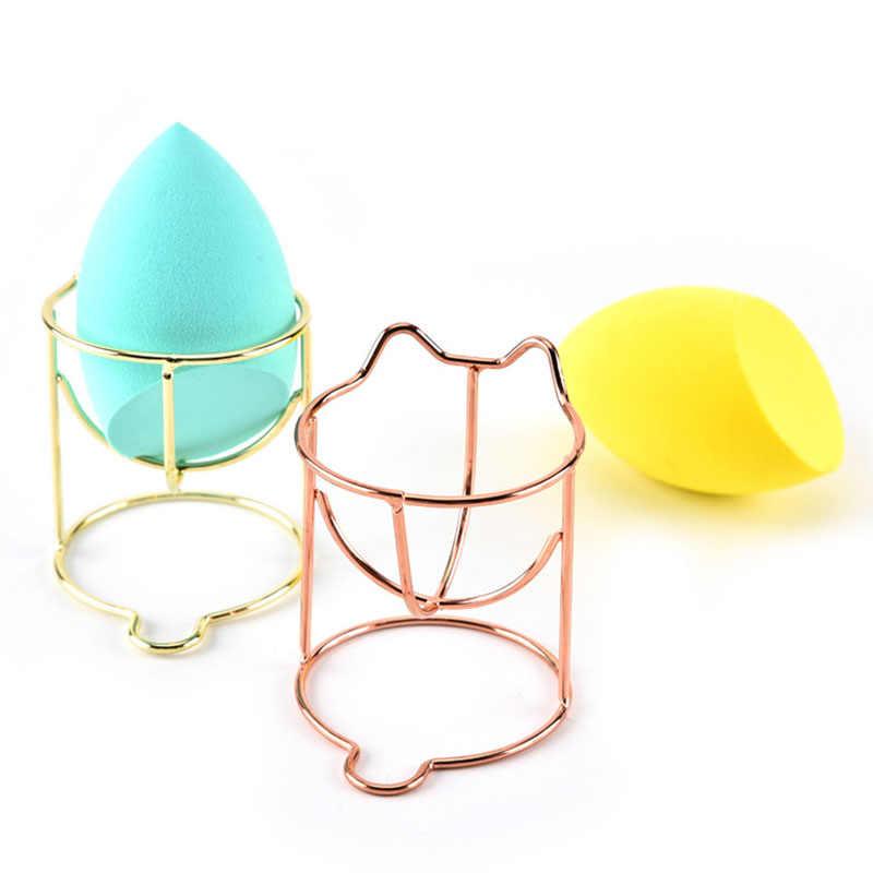 Soporte para esponja de maquillaje de belleza Puff Rack polvo Puff almacenamiento para mezclador Rack esponja secado soporte cosmético soporte para esponjas