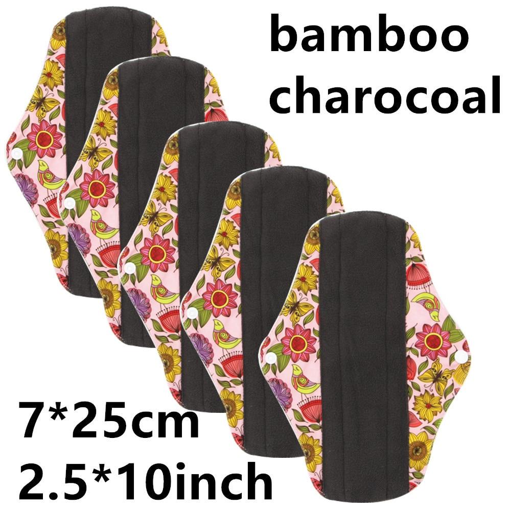 Washable Menstrual Pads Reusable Sanitary Napkin For Women Cotton Reusable Pads Washable Sanitary Female Towel Adult Diaper Pant