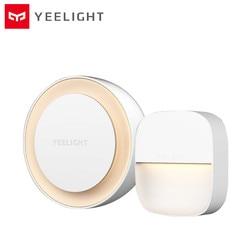 YEELIGHT inteligentne światło nocne 0.4W oświetlenie energooszczędne niskie zużycie energii z czujnikiem światła do karmienia dziecka 220V