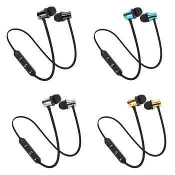 цена на XT11 Sports Running Bluetooth Wireless Earphone Active Noise Cancelling Headset for phones and music bass Bluetooth Headset