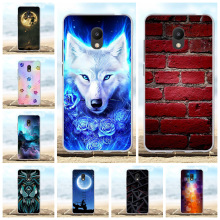For Meizu M6 Case Ultra-slim Soft TPU Silicone For Meizu M6 Meiblue 6 Cover Wolf Patterned For Meizu M6 Meilan 6 Coque Bumper vernee m6 4g phablet