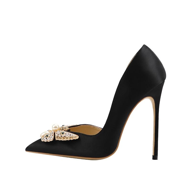 Free shipping fashion women pumps black