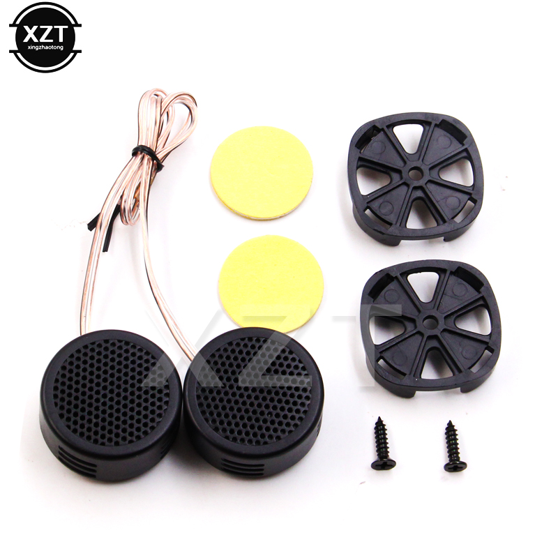2x 500W Loud Speaker High Efficiency Mini Dome Tweeter Loudspeaker Super Power Audio Sound Klaxon Tone