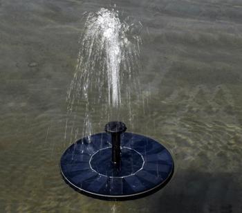Mini Solar Power fontanna ogród basen staw oczko wodne 30-45cm zewnętrzny Panel słoneczny oczko wodne pływające do wody fontanna pompa fontannowa wystrój ogrodu tanie i dobre opinie TWISTER CK CN (pochodzenie)