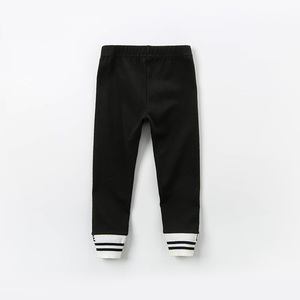Image 2 - Dbk12243 dave bella primavera crianças meninas moda carta listrado calças crianças boutique casual tornozelo comprimento calças