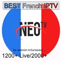 1 jahr Susbcription NEOTV PRO IPTV Beste Frankreich 1200 + Live 2000 + film NEO TV PRO Code IPTV M3U für Android Box Smart TV PC MAC-in Digitalempfänger aus Verbraucherelektronik bei