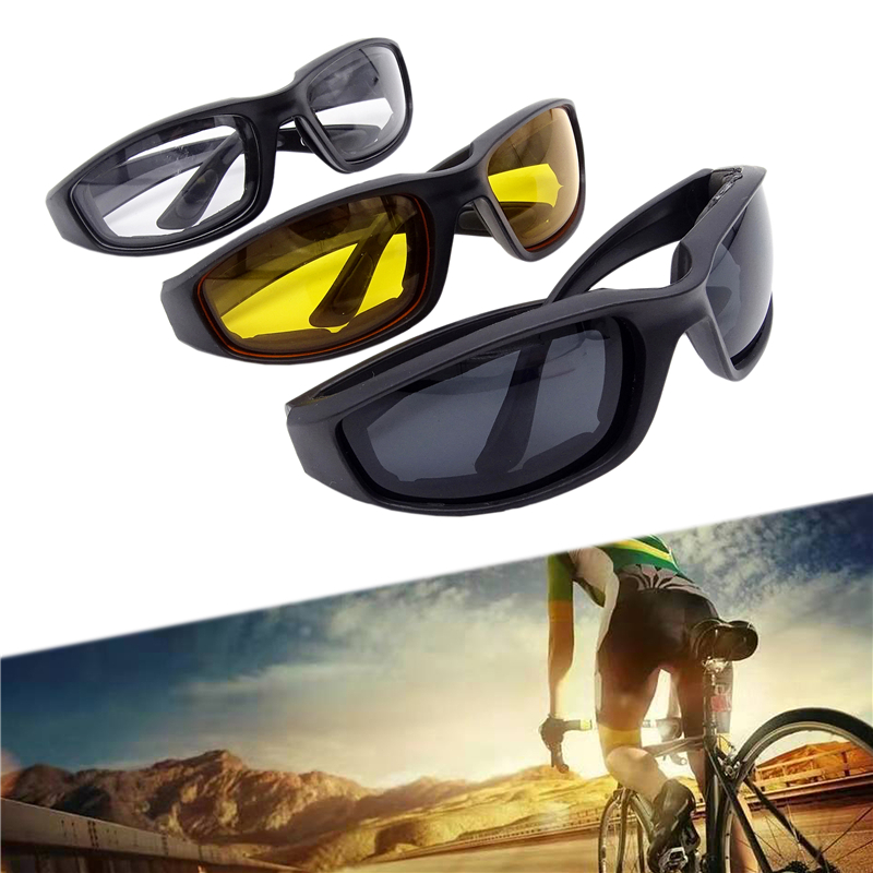 Universal Motorcycle Glasses Sun Motorcycle Glasses Driving Protective Glasses Windproof Riding Motor Goggles Cycling Outdoor
