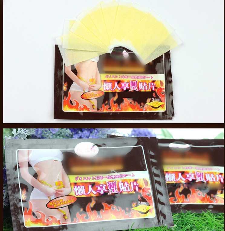 10 ชิ้น/เซ็ต Slimming Stick Slimming Navel สติกเกอร์ Slimming Patch ลดน้ำหนัก Burning Fat Patch Healthy Slimming สติกเกอร์