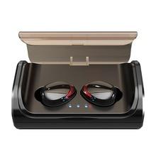 DOCIDACI TWS T8 Bluetooth Earphones 5.0 Wireless Earbuds Deep Bass Stereo IPX7 Waterproof Sports