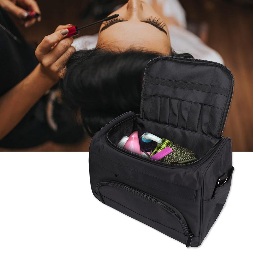 Professional Large Capacity Multi-pocket Salon Hairdressing Tool Multi-function Storage Bag Handbag Shoulder Pouch