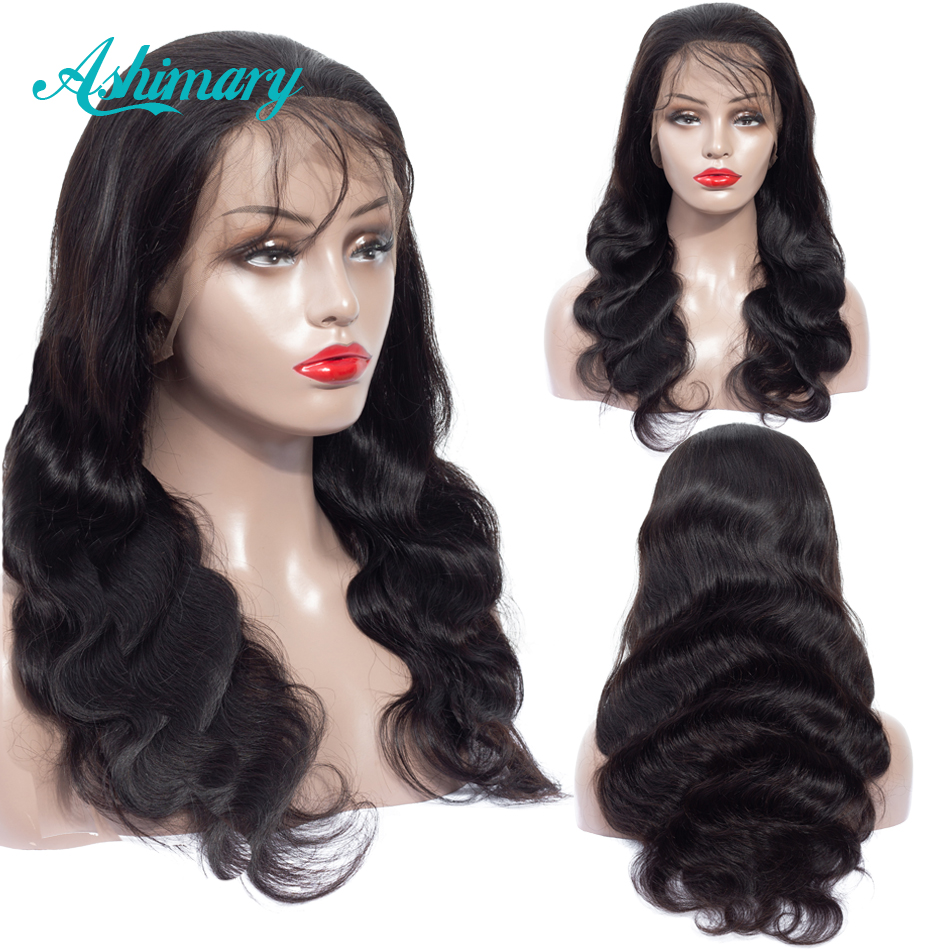 13x6 Lace Frontal Human Hair Wigs Remy Brazilian Hair Lace Front Wig Body Wave Lace Frontal Wig With Baby Hair Pre Plucked