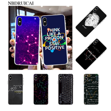 NBDRUICAI Symbol Math Science Physics Formulas Phone Cover for iPhone 11 pro XS MAX 8 7 6 6S Plus X 5S SE XR case(China)