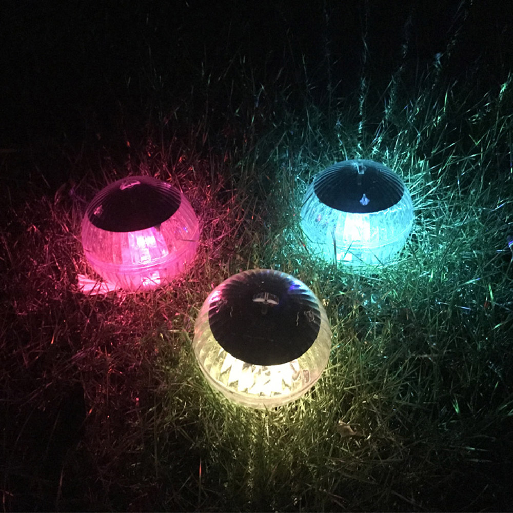 Outdoor Led Disco Light Swimming Pool Waterproof Led Solar Power Multi Color Changing Water Drift Floating Magic Decor Lights 05