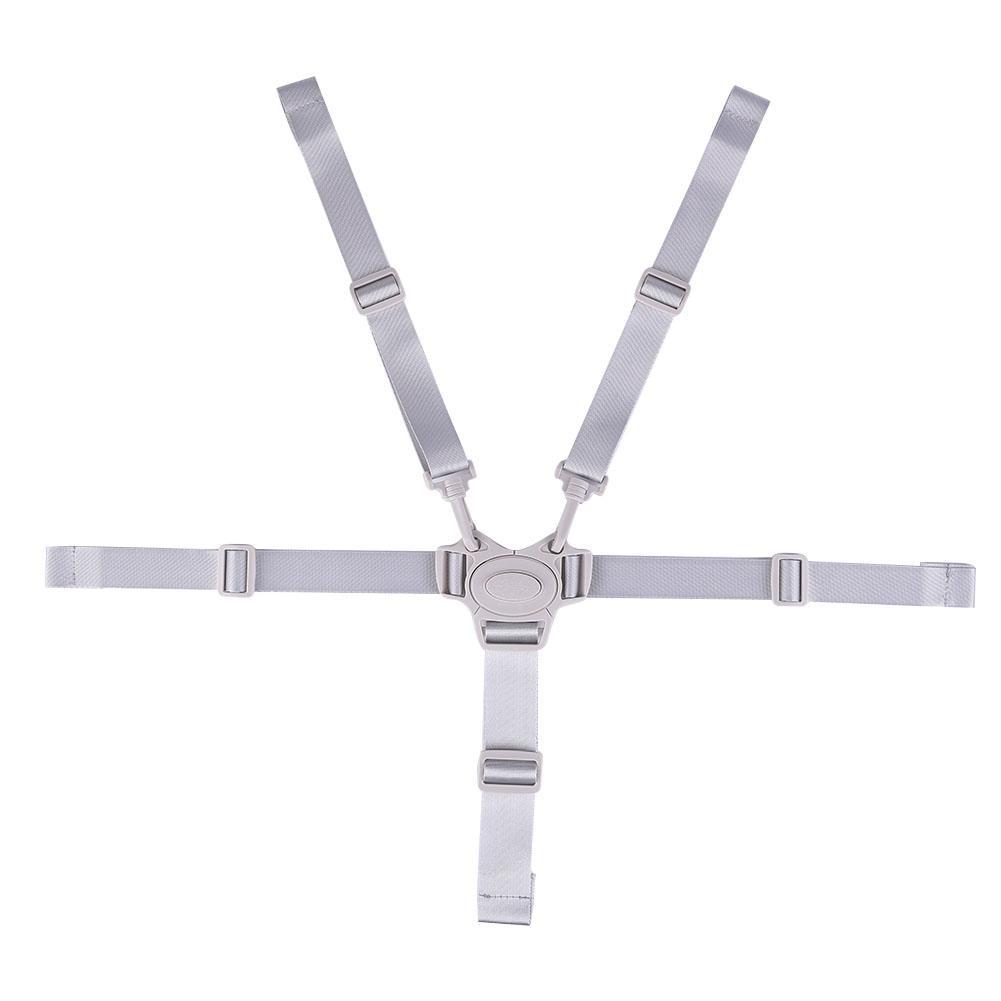 High Chair Strap Adjustable 5-point Safety Belt Baby Safety Belt Is Safe And Durable Adjustable Size