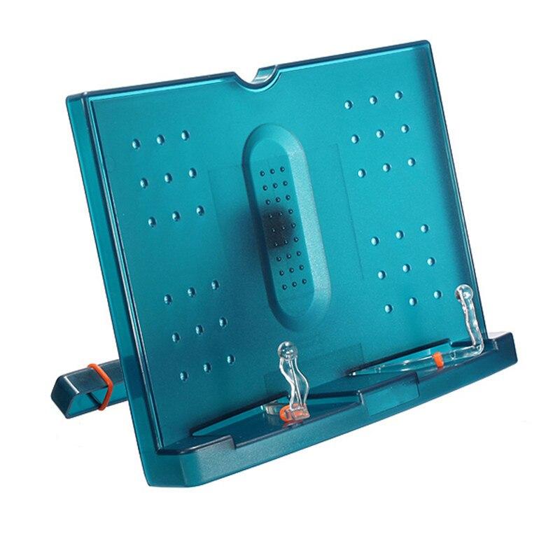 Adjustable Portable Document Book Stand Holder Reading Rrame Desk Holder Tilt Bookstand