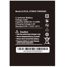 SZWESTTOP original 3200mAh battery For BQ BQ-5512L STRIKE FORWARD cellphone  Batterie for smart phone