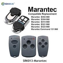 MARANTEC Digital 382 384 131 D302 D304 brama garażowa pilot zdalnego sterowania 868Mhz rolling code