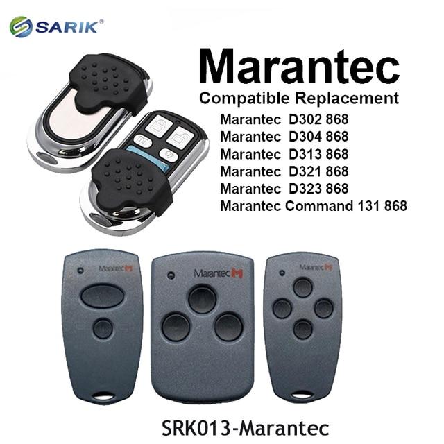 MARANTEC télécommande numérique 382 D302 D304
