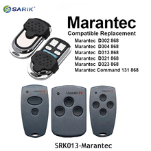 Marantec Digitale 382 384 131 D302 D304 Portello Del Cancello Del Garage di Telecomando 868Mhz Rolling Code