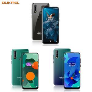 "Image 5 - Oryginalny OUKITEL C17 Pro 6.35 ""19:9 Android 9.0 telefon komórkowy MT6763 octa core 4G RAM 64G ROM odcisk palca 4G 3900mAh Smartphone"