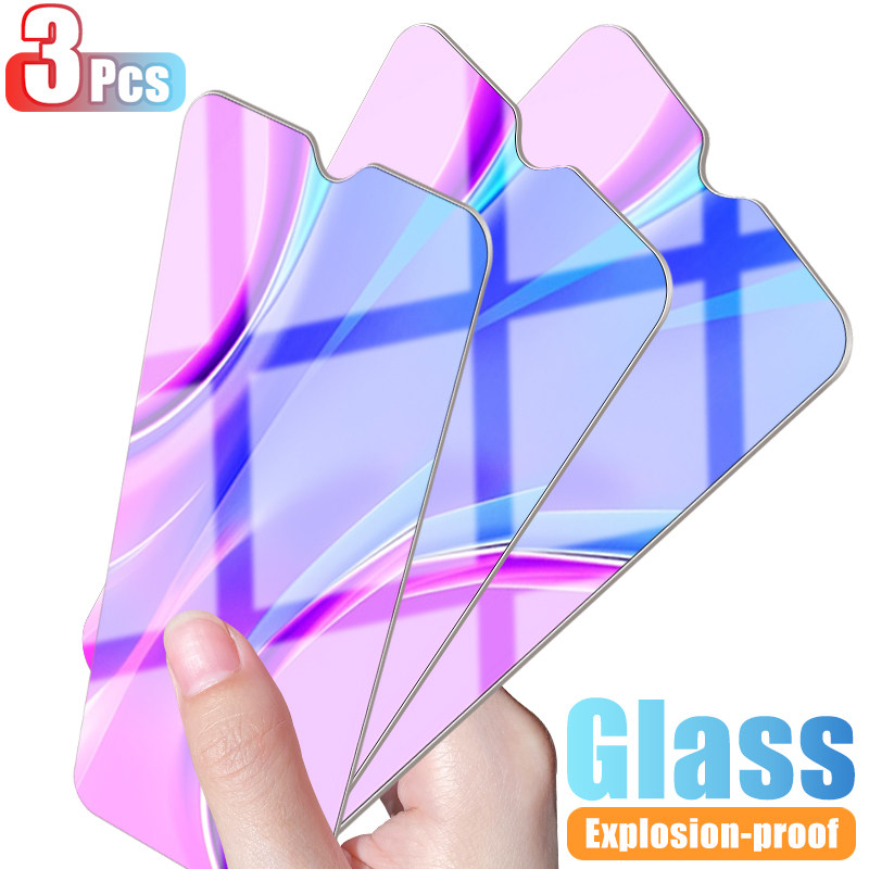 3Pcs Protective Glass For Xiaomi Redmi 8 7 9 9A 9C Film Tempered Glass For Redmi Note 8 7 9 9S Pro Max Screen Protector Glass