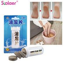 6 шт Анти-отек ног спа имбирь Замачивание ног массаж effercent таблетки лечение для отек ног отек лодыжки и боли