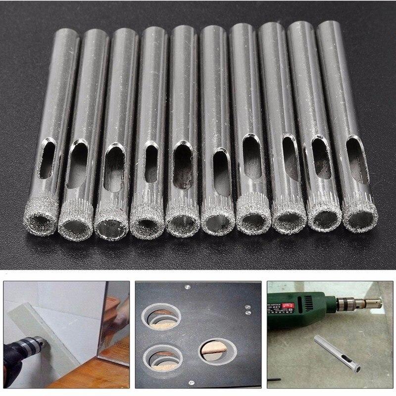 20 x 10 mm Diamond Holesaw Tile Ceramic Glass Slate Porcelain Marble Drill Bits